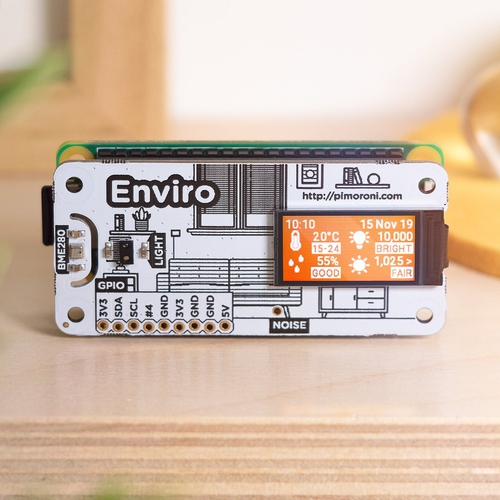 Enviro - Raspberry Pi用環境センサボード