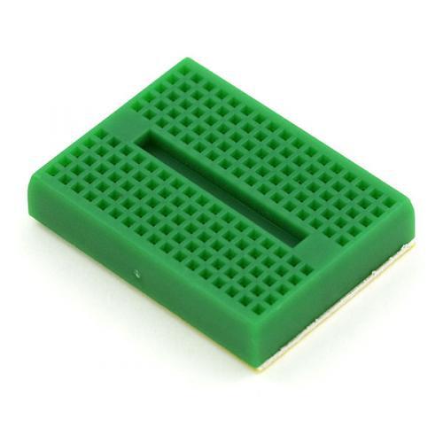 SparkFun 超小型ブレッドボード(緑)--販売終了