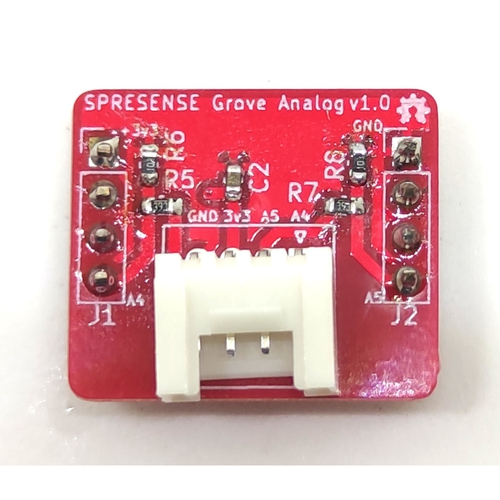 ADC expansion board for SPRESENSE (Grove compatible)