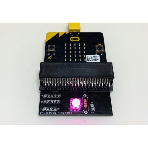 micro:bit用 色のプログラミングボード