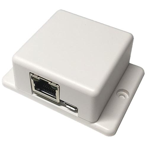 PoE対応 WebAPI K型熱電対アンプ