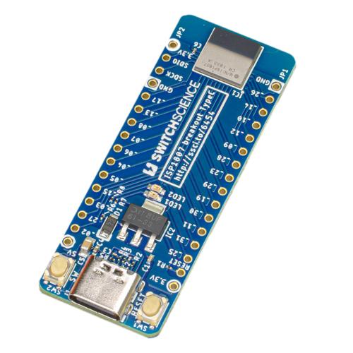 ISP1807ピッチ変換基板 USB Type-C版
