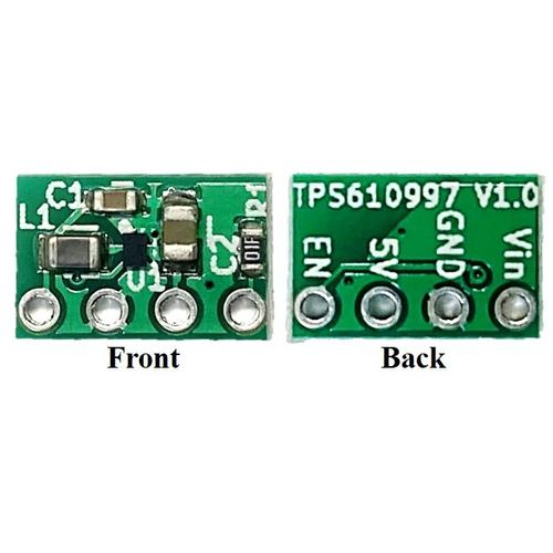 TPS610997 超低消費電力 5V出力昇圧モジュール