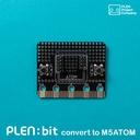 PLEN:bit用M5ATOM変換基板