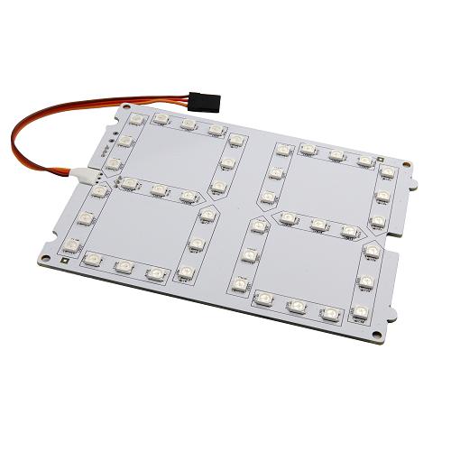 micro:bit用フルカラーLEDボード(数字型)