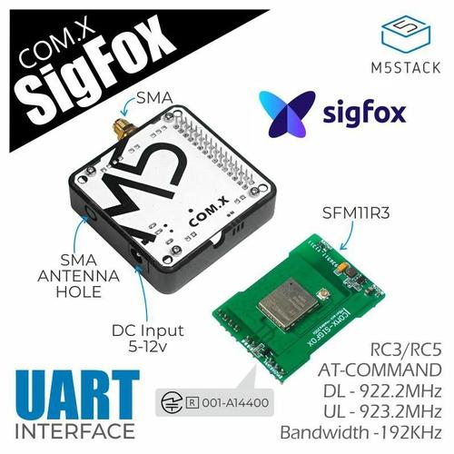 M5Stack用Sigfoxモジュール