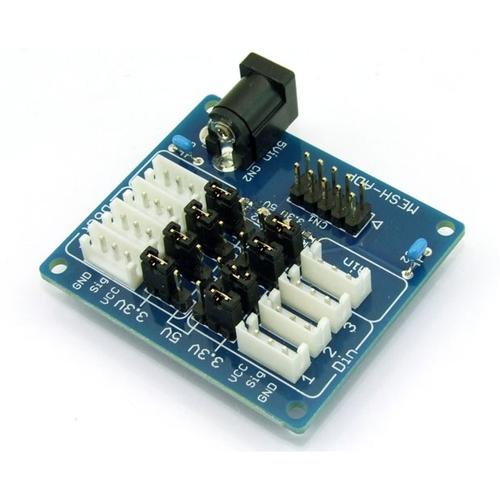 MESH GPIOブロック用コネクター変換基板