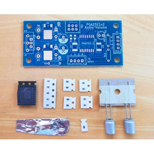 PGA2311 電子ボリューム基板