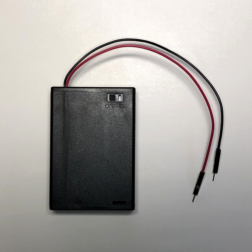 3 AA BatteryBox with PinConnector cables
