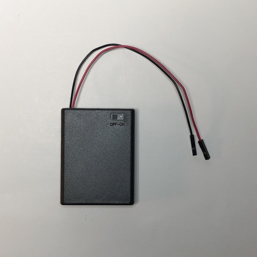 4 AAA BatteryBox with QI Cables