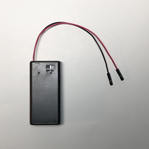 9V BatteryBox with QI Cables