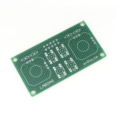 RC送信モジュールシールド用ジョイパッド基板