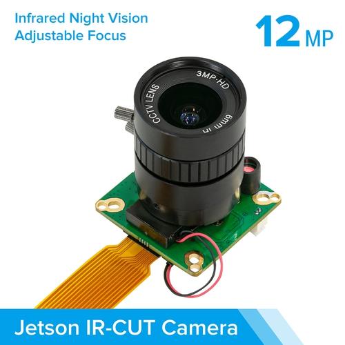 Arducam IMX477搭載 Jetson Nano/Xavier NX用 赤外線カット HQ camera(6 mm CSレンズ付き)