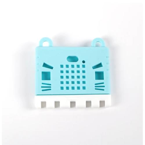 micro:bit v2用Kittyケース(水色)