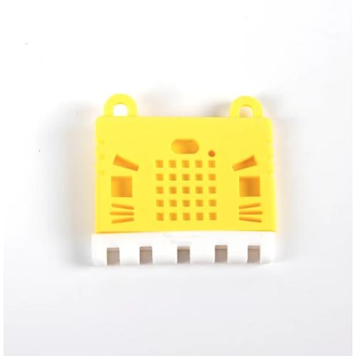 micro:bit v2用Kittyケース(黄)