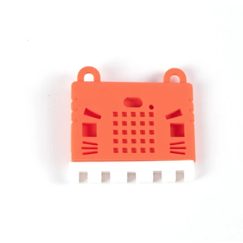 micro:bit v2用Kittyケース(赤)