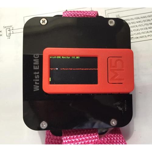 リスト筋電図センサユニット-WRIST-EMGSENS02