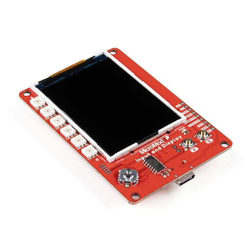 SparkFun MicroMod Input and Display キャリアボード