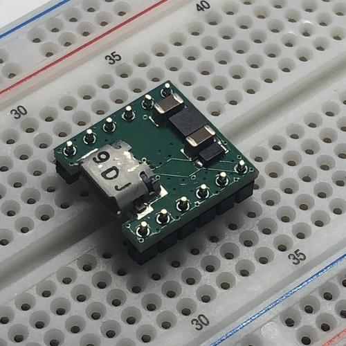 横型USB Micro コネクタ(SBD/3.3V1A LDO内蔵)