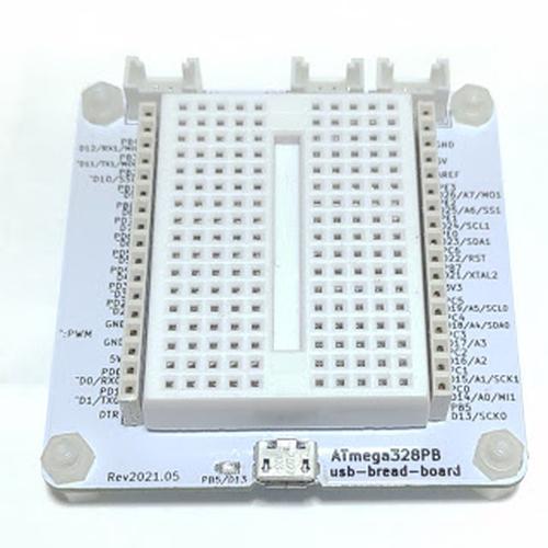 ATmega328PB-usb-bread-board