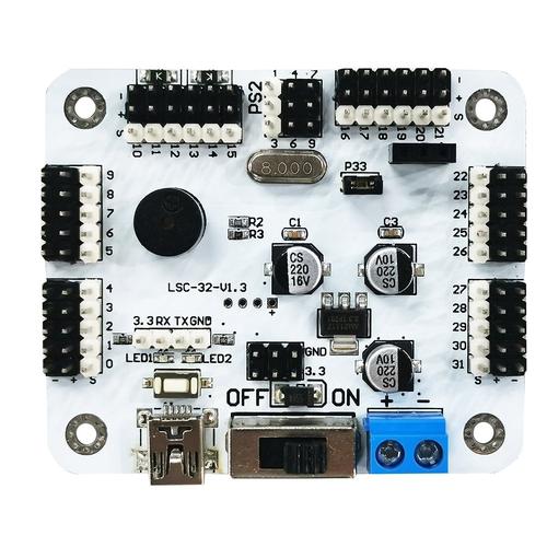 HiWonder LSC-32 32チャンネルデジタルサーボコントローラ