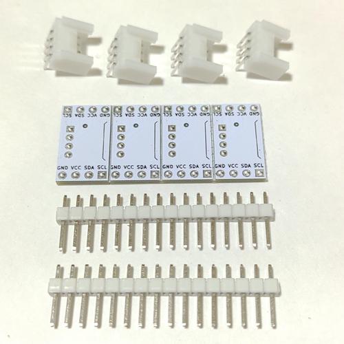 Groveコネクタ ブレイクアウトボード 横型両側ピン 未組立4セット
