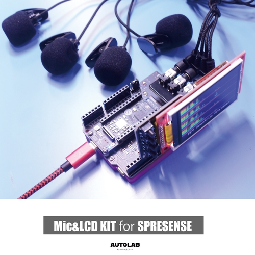 Mic&LCD KIT for SPRESENSE