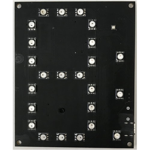 WS2813-7segPanel コントローラ無し基板