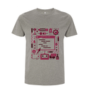 Raspberry Pi Colour Code T Shirt - Small