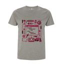 Raspberry Pi Colour Code T Shirt - Medium