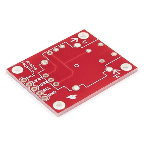 アナログジョイスティック用ピッチ変換基板