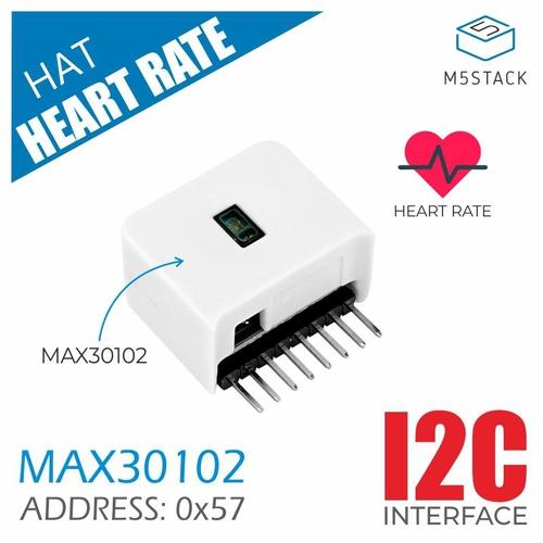 M5StickC 心拍センサ Hat(MAX30102搭載)