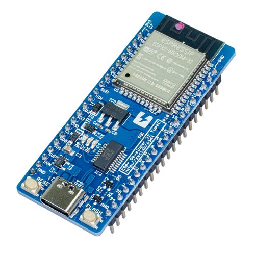ESPr® Developer 32 Type-C(ピンヘッダ実装済)