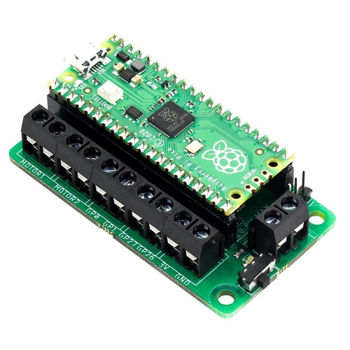 Raspberry Pi Pico用モータードライバ基板