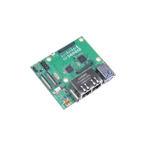 Raspberry Pi Compute Module 4用 デュアルGbEキャリアボード