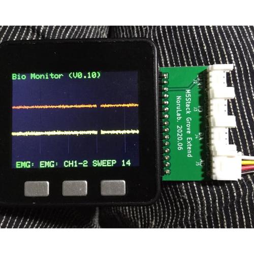 M5Stack-Grove拡張基板(M5Stack-Basic用)