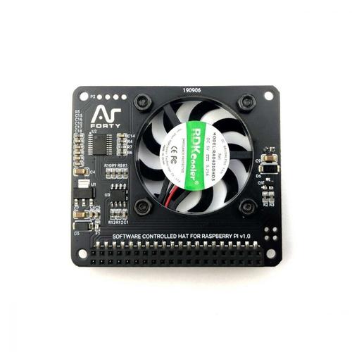 Argon Raspberry Pi 4/Raspberry Pi 3用 ファンHAT