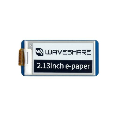 Raspberry Pi Pico用 2.13インチ e-Paper ディスプレイ(白黒) 250×122