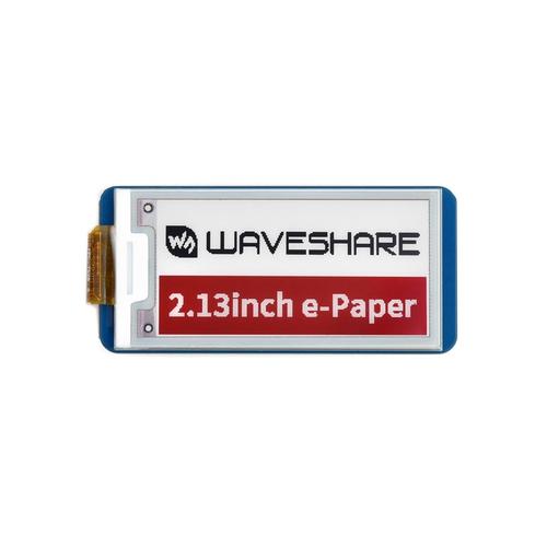 Raspberry Pi Pico用 2.13インチ e-Paper  ディスプレイ(白黒赤)212×104