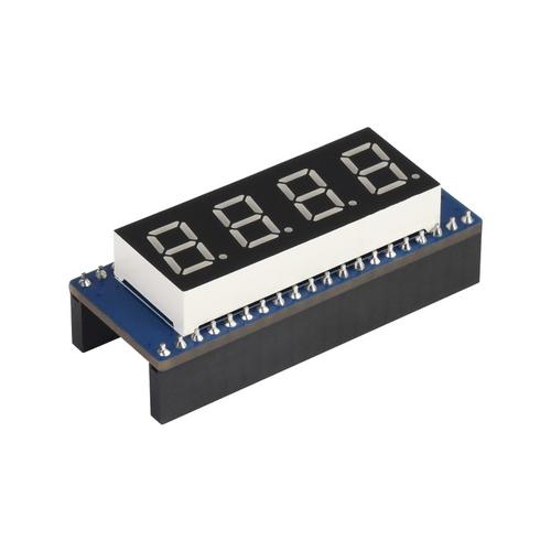 Raspberry Pi Pico用4桁8セグディスプレイ SPI互換