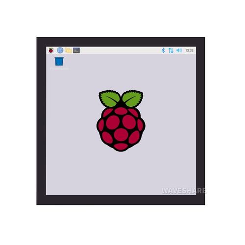 Raspberry Pi用 4インチ タッチスクリーン液晶 720×720