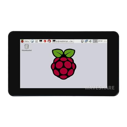 Raspberry Pi用 7インチ タッチスクリーン液晶  800×480(ケース付き)