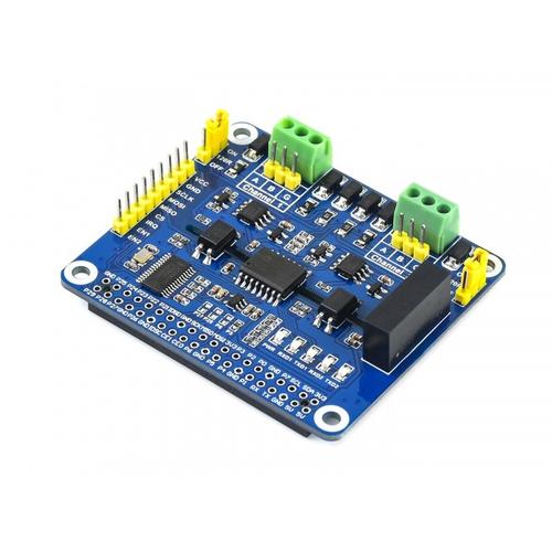 Raspberry Pi用 2チャンネル絶縁 RS485 HAT