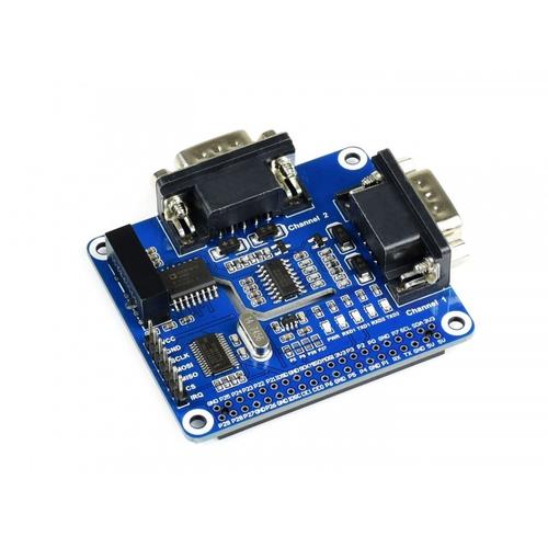 Raspberry Pi用 2チャンネル絶縁 RS232 HAT