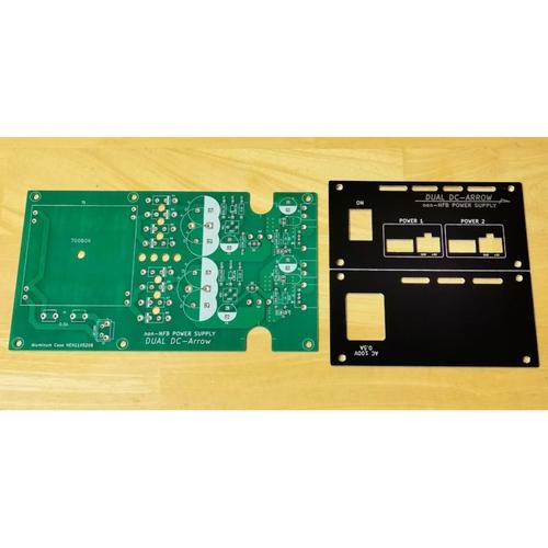 non-NFB ディスクリート電源基板 DUAL DC-ARROW