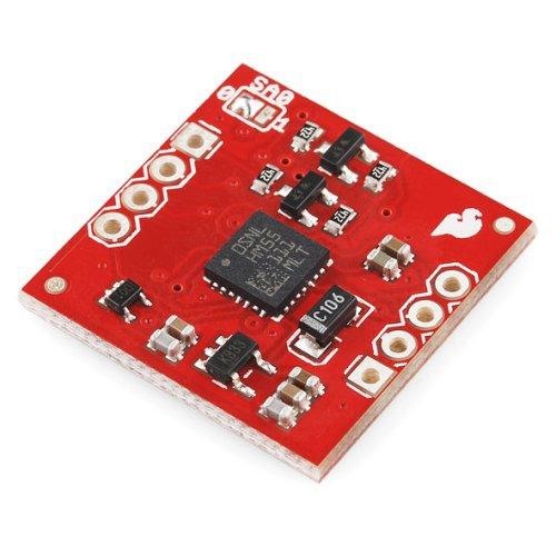 LSM303DLH搭載傾き補償付きデジタルコンパス・加速度センサモジュール--販売終了