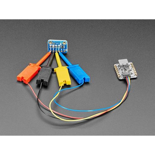 Qwiic - JST-SH Micro SMTテストフック付き 4ピンケーブル