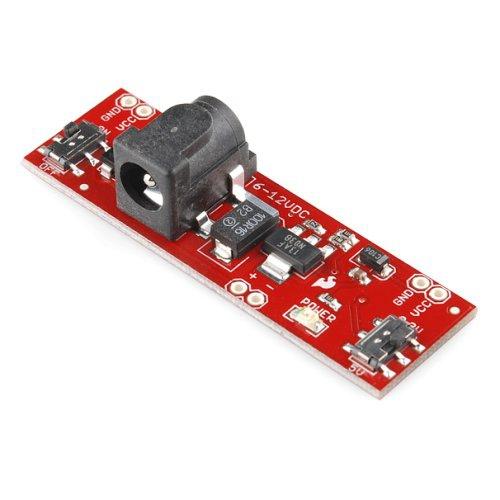 ブレッドボード用電源ボード5V/3.3V切り替え式 --販売終了