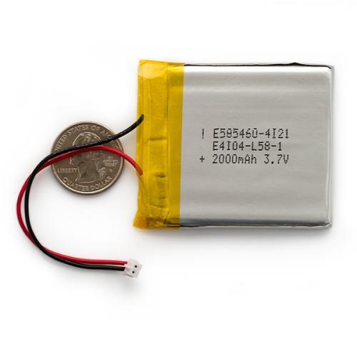 リチウムイオンポリマー電池2000mAh--販売終了