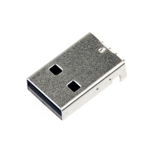 USB-Aコネクタ(SMT,オス)4+1個パック--販売終了